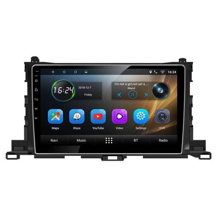 "Radio DVD Navegador GPS Android para Toyota Highlander (10,2"")"
