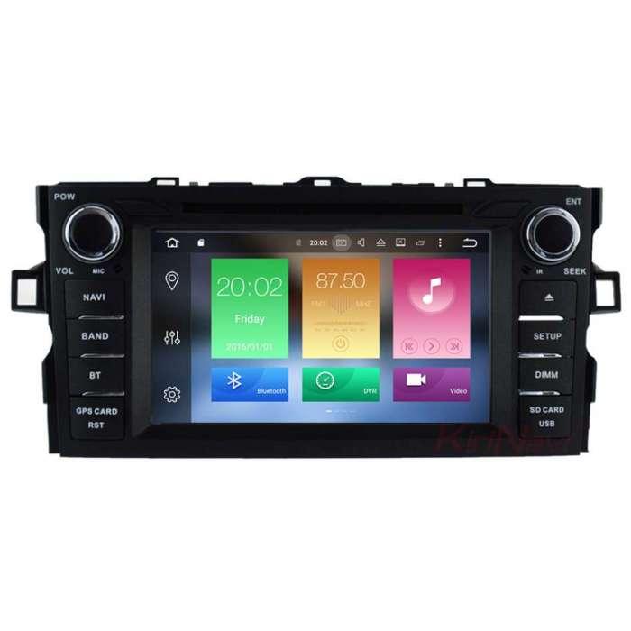 "Radio DVD Navegador GPS Android para Toyota Auris (7"")"