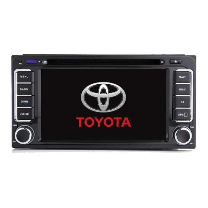 "Radio DVD Navegador GPS Android para Toyota Universal (7"")"