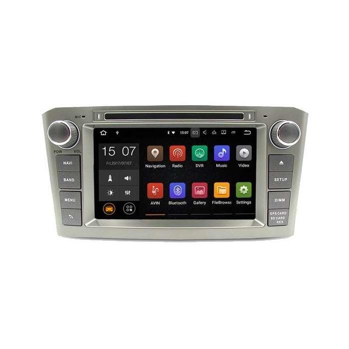 "Radio DVD Navegador GPS Android para Toyota Avensis T25 (7"")"