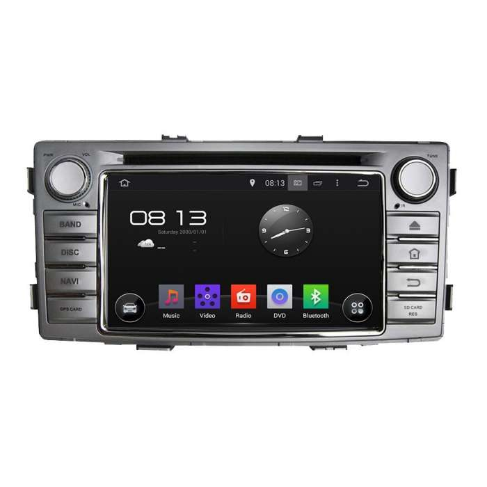 "Radio DVD Navegador GPS Android para Toyota Hilux (6,5"")"