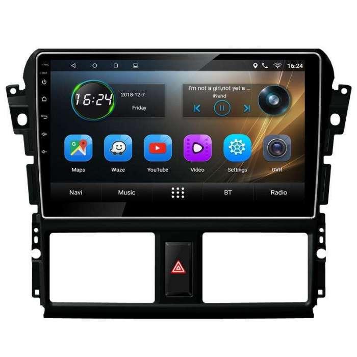 "Radio Navegador GPS Android para Toyota Vios (10,2"")"