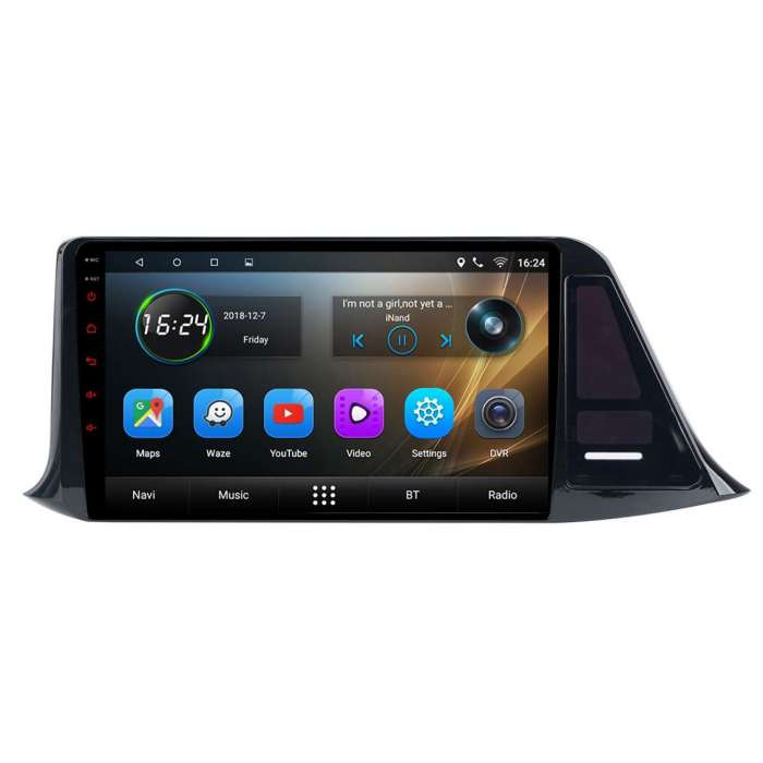 "Radio Navegador GPS Android para Toyota C-HR (9"")"