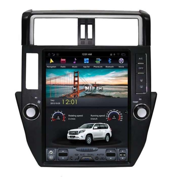 "Radio Navegador Android Tipo Tesla Toyota Land Cruiser Prado KDJ150 (12,1"")"