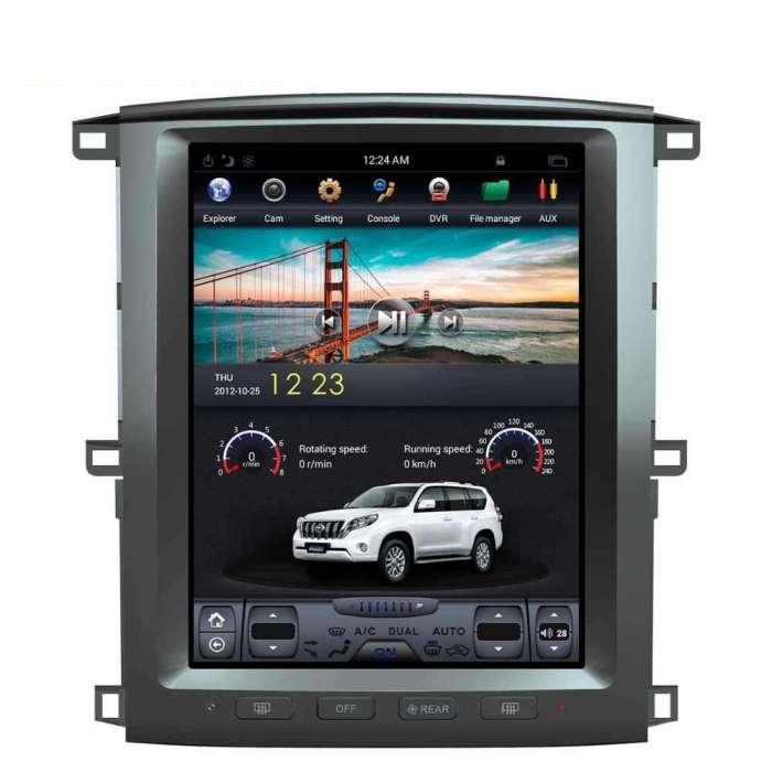 "Radio Navegador Android Tipo Tesla Toyota Land Cruiser HDJ 100 (12,1"")"