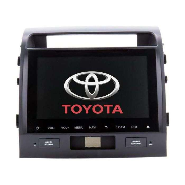 "Radio Navegador GPS Android para Toyota Land Cruiser 200 (10,1"")"