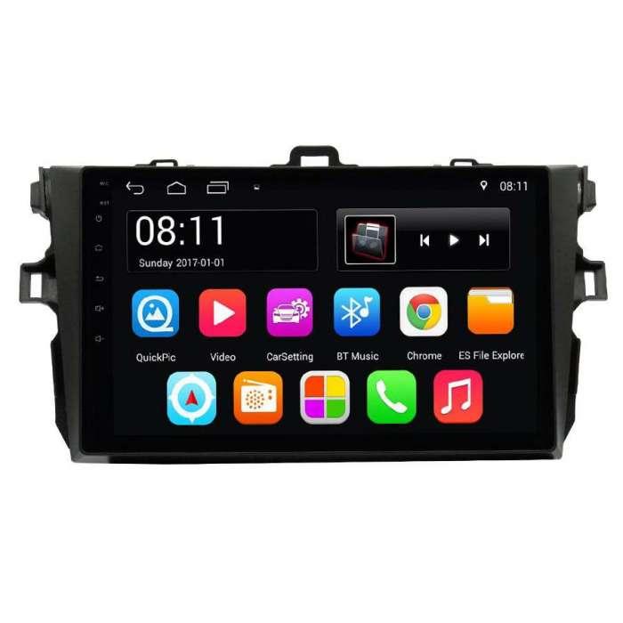 """Radio Navegador GPS Android para Toyota Corolla (9"""")"""