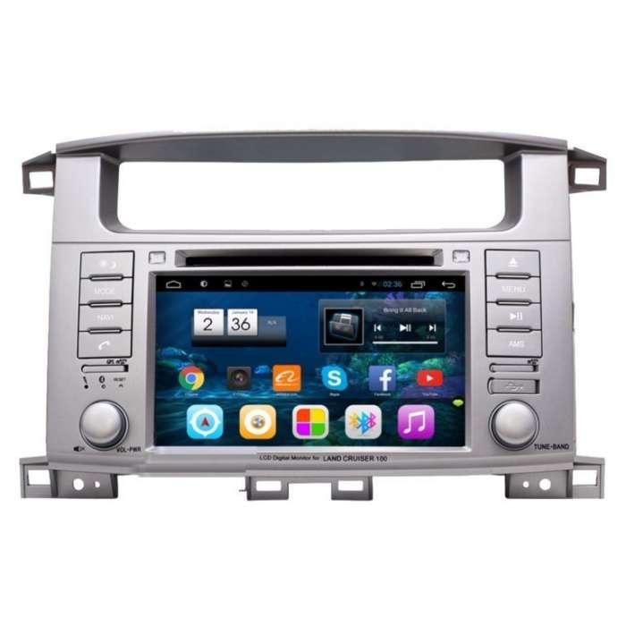 """Radio DVD Navegador GPS Android para Toyota Land Cruiser HDJ 100 (7"""")"""