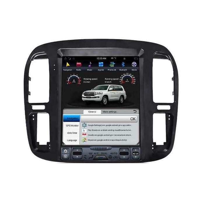 "Radio Navegador Android Tipo Tesla Toyota Land Cruiser 100 (12,1"")"