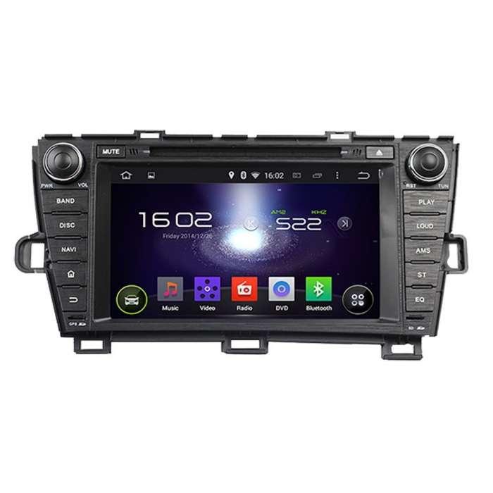"""Radio DVD Navegador GPS Android para Toyota Prius (7"""")"""