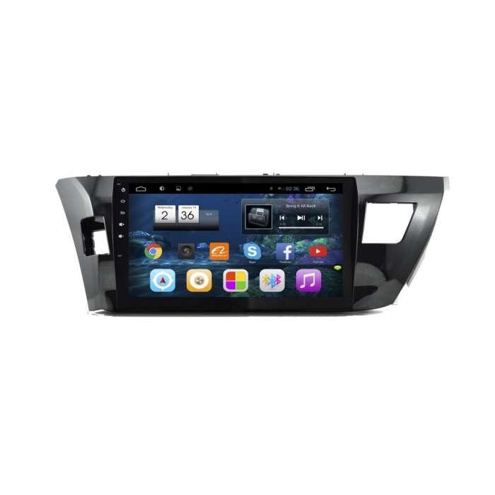 """Radio DVD Navegador GPS Android para Toyota Corolla (10,2"""")"""