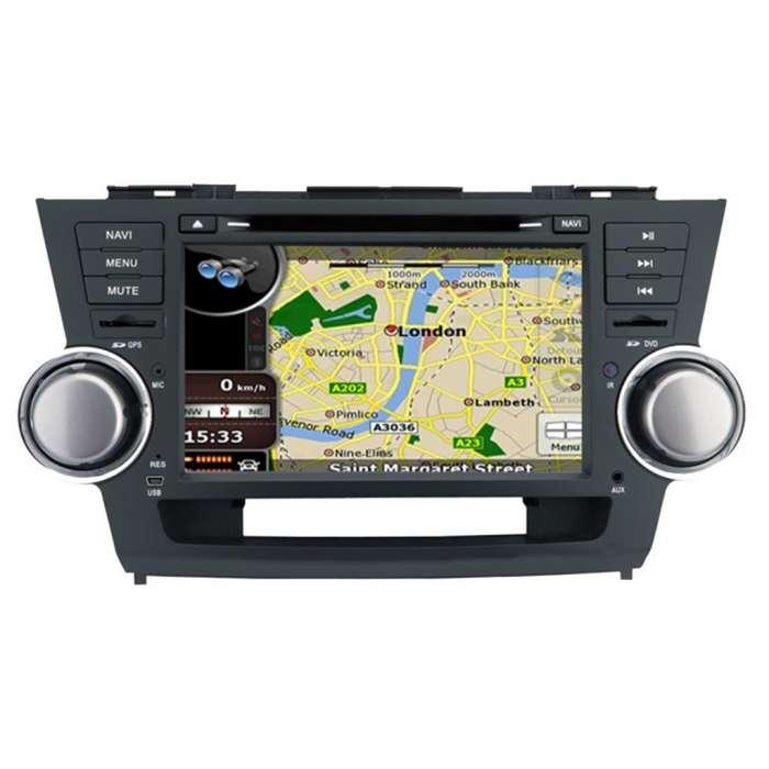 "Radio DVD Navegador GPS Android para Toyota Highlander (7"")"