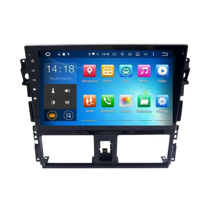 "Radio DVD Navegador GPS Android para Toyota Vios (10,1"")"