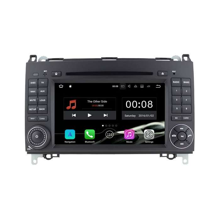 "Radio DVD Navegador Android para Volkswagen Crafter (7"")"