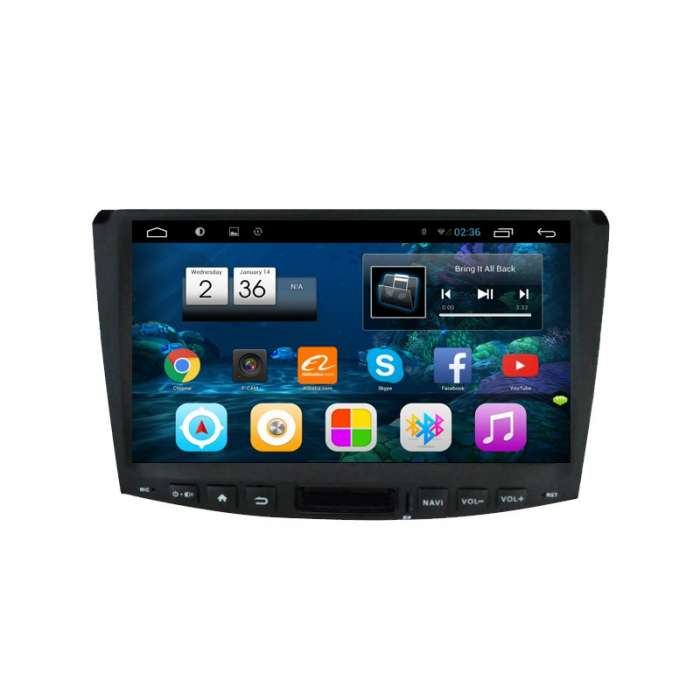 "Radio Monitor Navegador HD Android Puro para Volkswagen Passat (10,2"")"