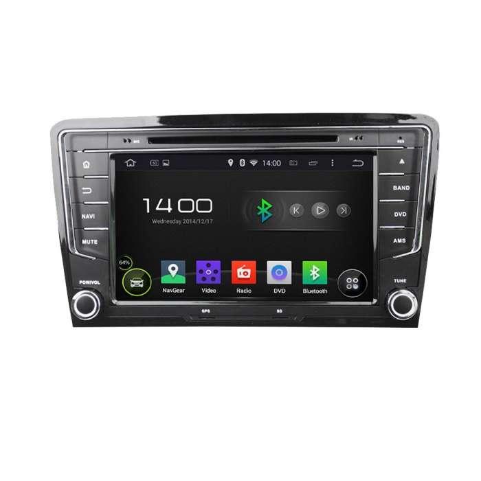 "Radio Navegador Octa Core Android Puro para Volkswagen Passat (8"")"