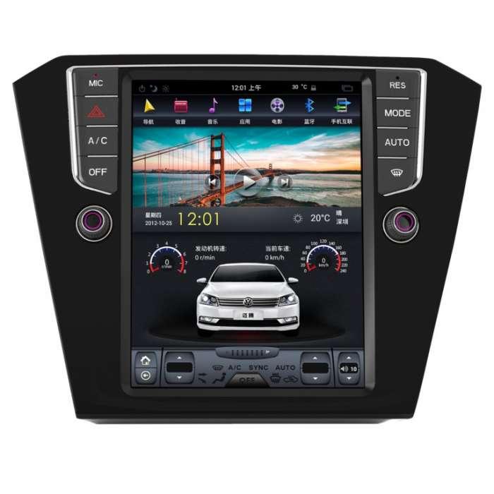 "Radio Navegador Android Tipo Tesla para Volkswagen Passat (10,4"")"
