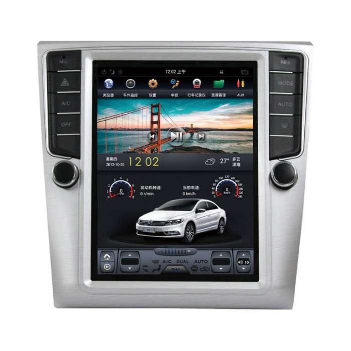 "Radio Navegador Android Tipo Tesla para Volkswagen Passat CC (10,4"")"