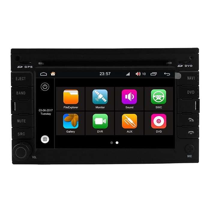 "Radio DVD Navegador Android HD Octa Core S200 para Volkswagen Golf (6,8"")"