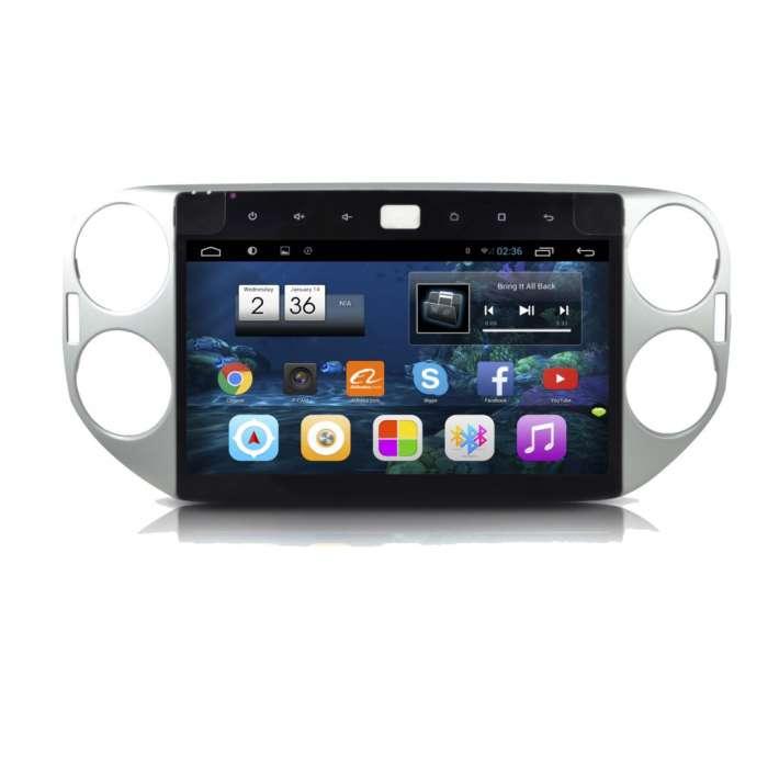 "Radio Monitor Navegador HD Android Puro para Volkswagen Tiguan (10,2"")"