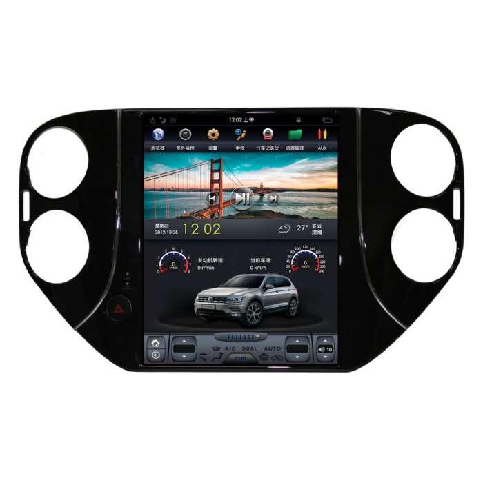 """Radio Navegador Android Tipo Tesla para Volkswagen Tiguan (10,4"""")"""
