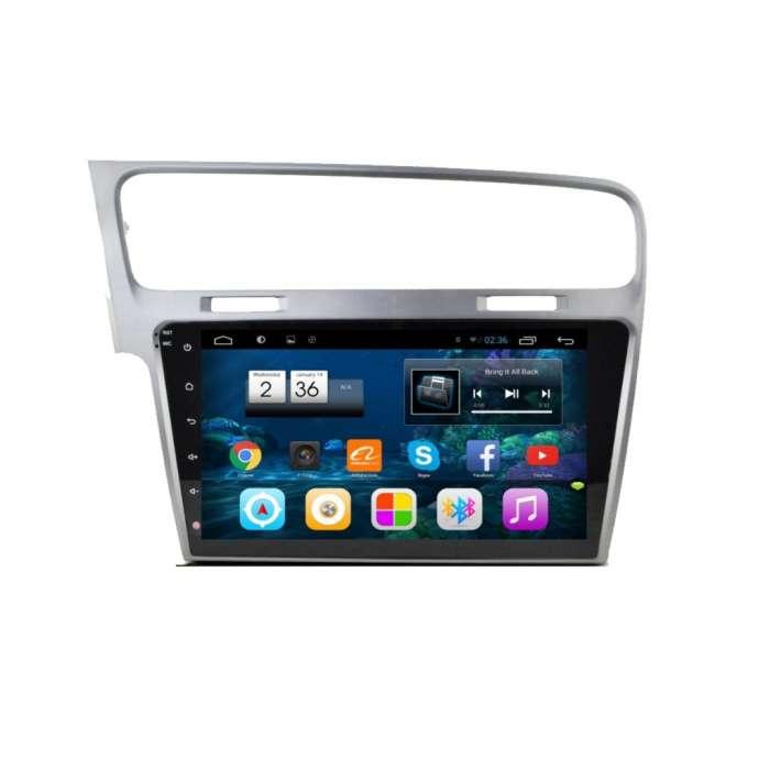 "Radio Monitor Navegador HD Android Puro para Volkswagen Golf (10,2"")"