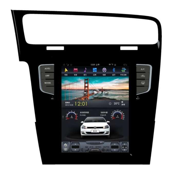"""Radio Navegador GPS Android Tipo Tesla para Volkswagen Golf (10,4"""")"""